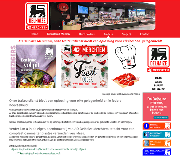 Website - AD Delhaize Merchtem