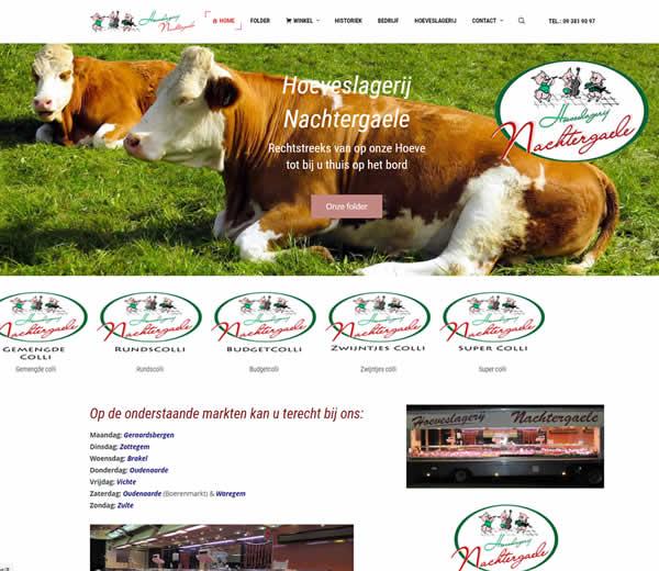 Website Hoeveslagerij Nachtergaele | Referenties